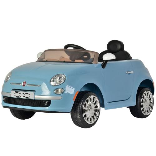 Blue Fiat 500 Parts