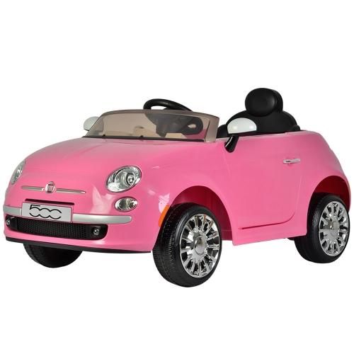 Pink Fiat 500 Parts