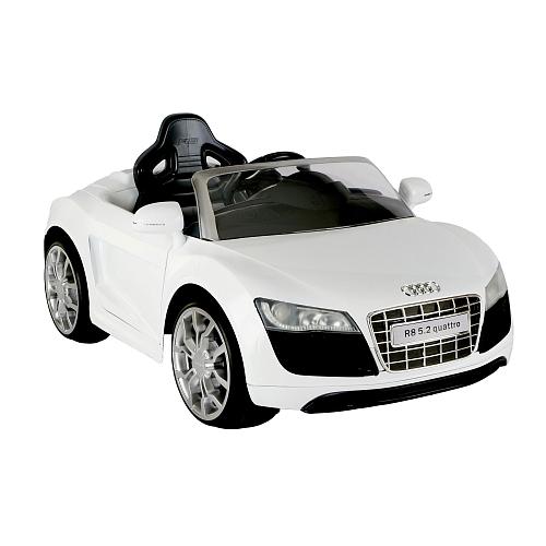 White Audi R8 Parts