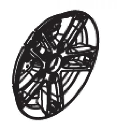Maserati 6V Wheel Trim