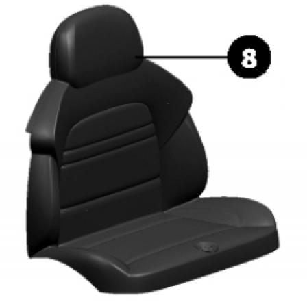 BMW X6 Seat