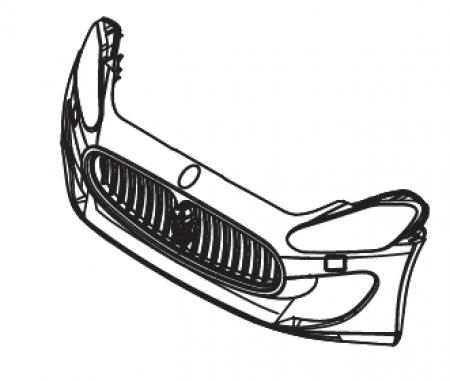 Maserati 6V Front Bumper