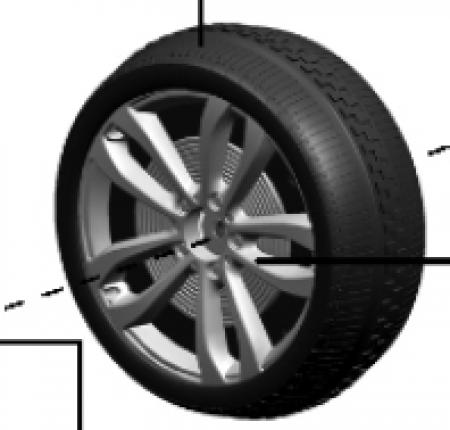 BMW X6 Driven Wheel