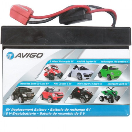 6v Battery for ride on vehicles