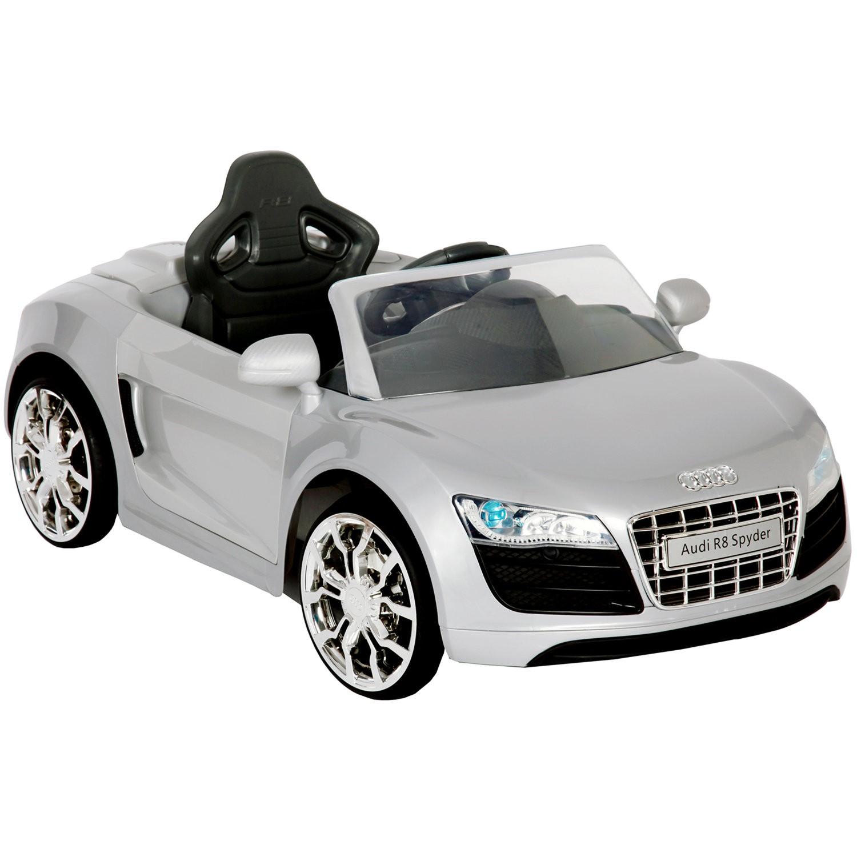 6v audi r8 apollo car in silver. Black Bedroom Furniture Sets. Home Design Ideas