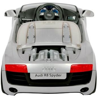 V Audi R Apollo Car In Silver - Audi r8 6v car