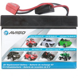 Replacement 6v battery