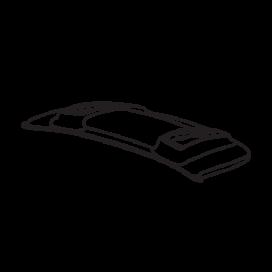 Audi Engine Cover Black