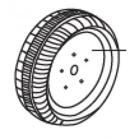 Mini 6v Front Wheel