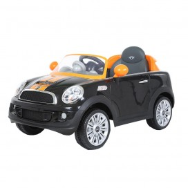 6V Mini Cooper Coupe - Black and Orange