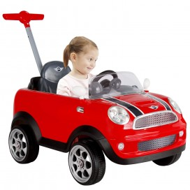 Mini Cooper Push Buggy - Red