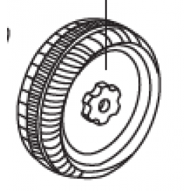 Mini 6v Rear Wheel