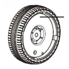 Audi Spin Rear Wheel