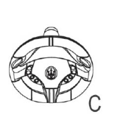 Maserati 6V Steering Wheel