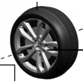 BMW X6 Non Driven Wheel