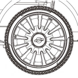 Fiat 500 Wheel Trim