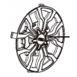 Audi Spin Wheel Trim