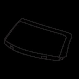 Audi Windscreen Silver