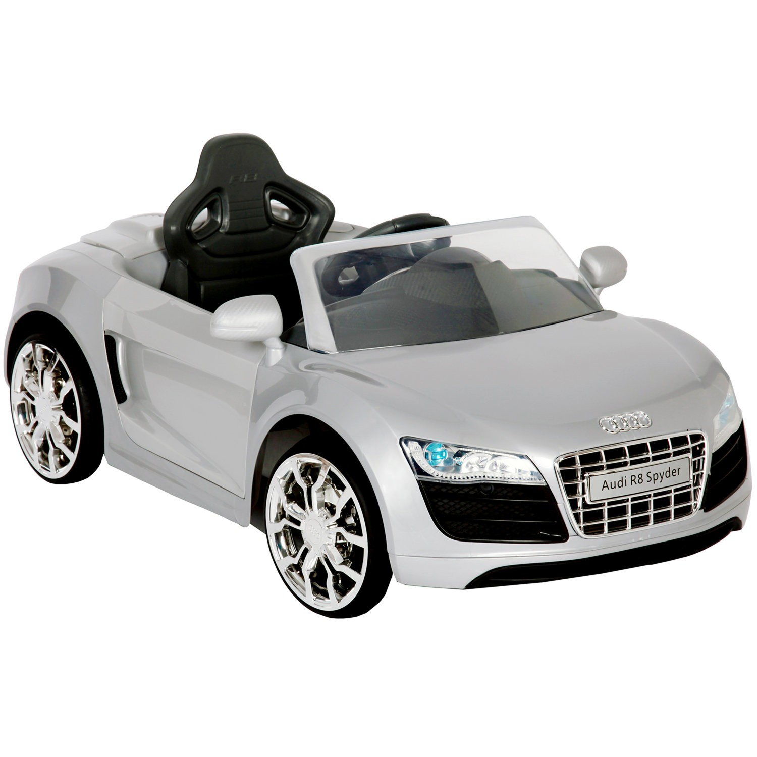 6V Audi R8 Apollo Car in Silver